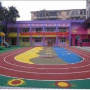 重庆塑胶篮球场建设图片