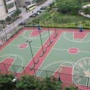 重庆标准篮球场报价图片