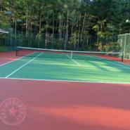 重庆网球场专业施工图片