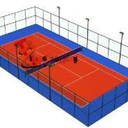 重庆篮球场橡胶地垫硅PU网球场图片