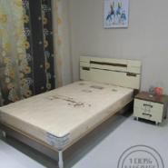 供应森琴家居奶色床1米2床单人床