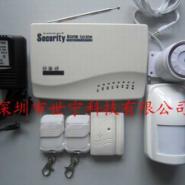 GSM家用防盗报警控制主机无线家用图片