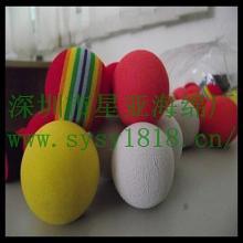 供应海绵玩具球海绵笑脸球