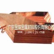 广州T2紫铜板表面拉丝图片