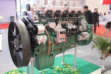 供应锡柴6110收割机用发动机,锡柴CA6110/125T收割机图片