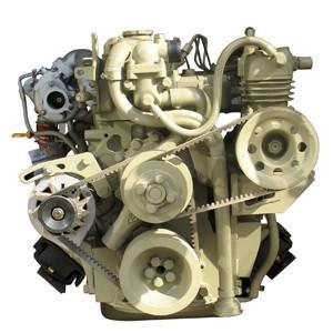 供应一汽锡柴4110收割机用发动机图片
