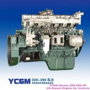 玉柴375马力发动机总成图片