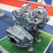 玉柴140马力增压中冷发动机总成图片