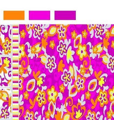 印花磨毛布图片/印花磨毛布样板图 (3)