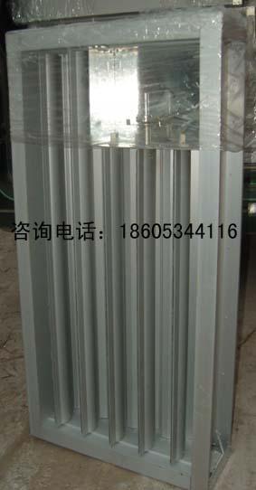 供应内蒙古手动电动单层调节铝合金百叶窗