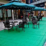 广州人造草/万达广场步行街地面铺图片