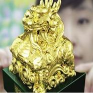 2012伦敦奥运徽宝金镶玉玺图片