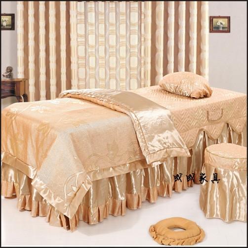 美容床床罩图片
