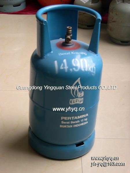 供应东南亚12kg液化石油气钢瓶图片
