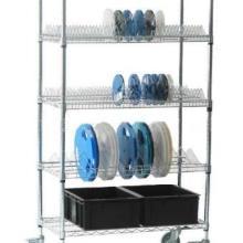 供应网格料盘存放架线网料盘车SMT圆盘周转架各类不锈钢金属制品