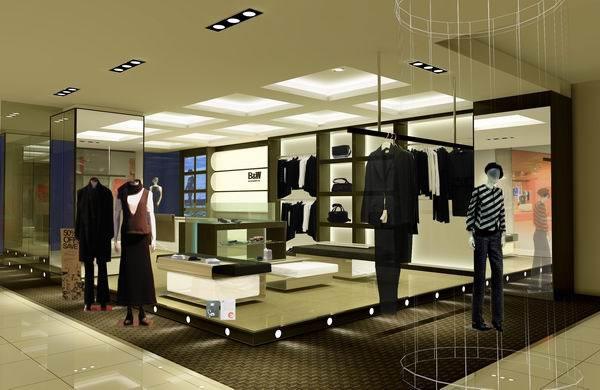 韩版女装店装修效果图  ¥电议/个 上海淘宝导购公司 ¥1200元/平方