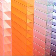 供应红色PC阳光板湖蓝阳光板特殊颜色阳光板厂家图片