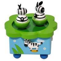 供应荷兰品牌儿童乐器斑马音乐盒