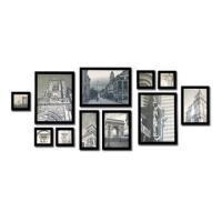 供应宜美贴欧式全实木12框组合照片墙批发