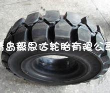 供应机场平板拖车实心轮胎400-8
