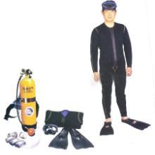供应潜水呼吸器/潜水装具/空气自携式开放回路单管咬嘴型潜水装置报价批发