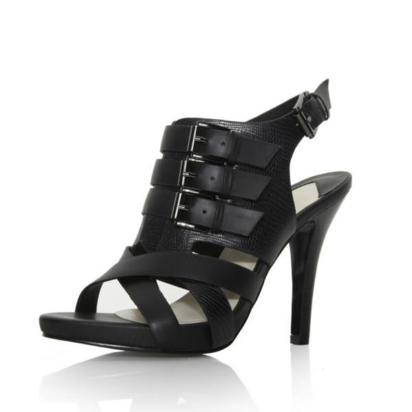 高跟罗马凉鞋图片|高跟罗马凉鞋样板图|真皮女鞋高跟