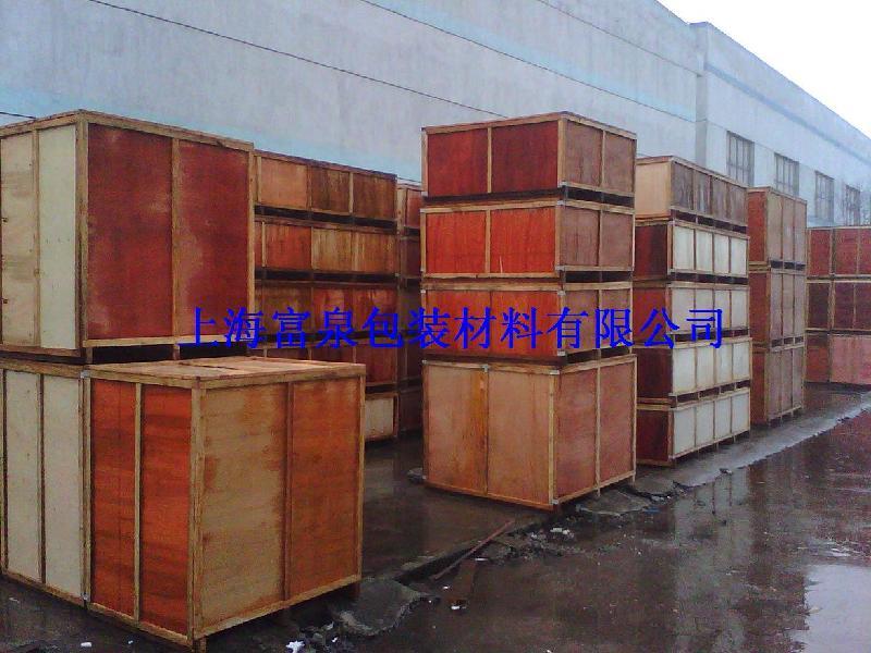 供应松江木箱钢带箱松江卡扣箱包装箱,松江木箱钢带箱松江卡扣箱包装箱厂