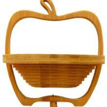 供应环保水果篮 竹木编制工艺品 竹篮 个性水果篮 家居礼品