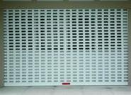 50型77型铝冲孔卷帘图片