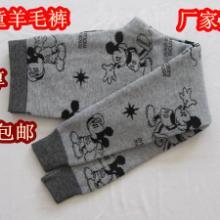 供应厂家直销儿童加厚保暖羊毛裤 批发