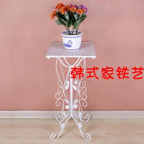 新品8折铁艺花架客厅落地花盆架图片