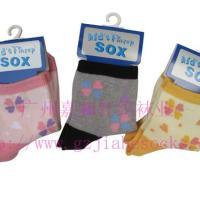 供应纯棉儿童袜提花儿童袜子童袜子批发 图片 效果图