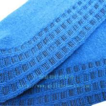 供应糖果色彩粗针袜子男女粗针船袜 袜子工厂