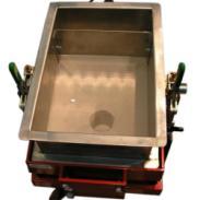 小麦振动筛分机粮食振动筛选机图片