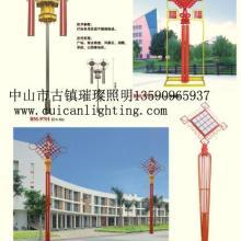 供应广东不锈钢景观灯喜庆中国结灯