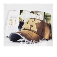 字母个性水洗做旧遮阳棒球帽子图片
