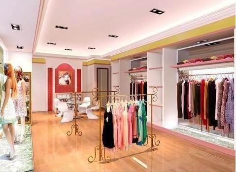 生产供应服装店装潢图片