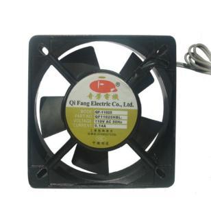 11025双滚珠工业风扇散热风扇110V图片