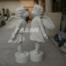 供应树脂天使雕塑 园林景观摆件 工艺品厂 特色景观雕塑