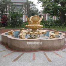 供应广州砂岩贝壳喷泉雕塑景观 特色砂岩流水产品 水景雕塑图片
