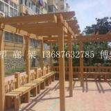 供应青岛平度木塑廊架生产厂家生产最优质的木廊架