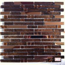 供应宜昌KTV马赛克,镜面马赛克适合KTV墙面装饰条,装饰砖效果。