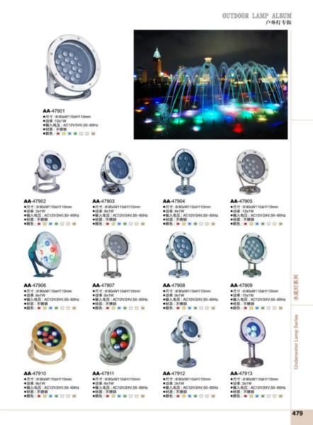 供应LED水底灯系列图片