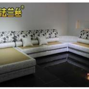 成都法兰丝家居时尚布艺沙发C90图片