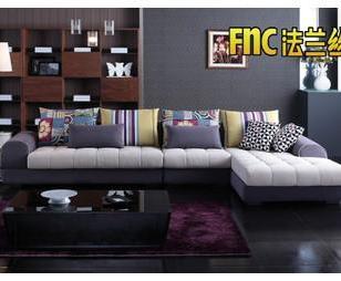 成都法兰丝家居时尚布艺沙发C69图片
