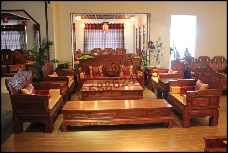 红木沙发价格图片