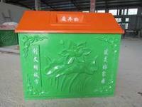 供应玻璃钢模压垃圾箱