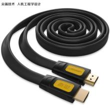 HDMI线 接电视 镀金双重PVC hdmi 1.4 3d高清连接线