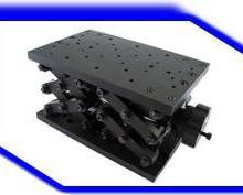 联英精密型手动升降台SS10-120自动化位移调整滑台光学实验测试工作平台批发