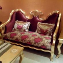 供应实木雕花欧式酒店沙发
